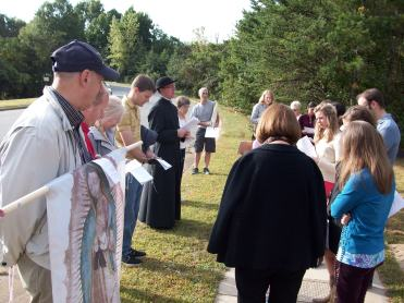 With Fr. Rossi at Latrobe