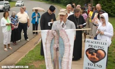 Fr. Shuey & Fr. Deacon Matthew Hanes at Latrobe