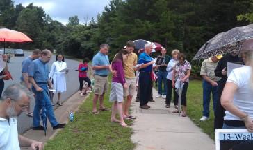 With Fr. Deacon Matthew Hanes at Latrobe