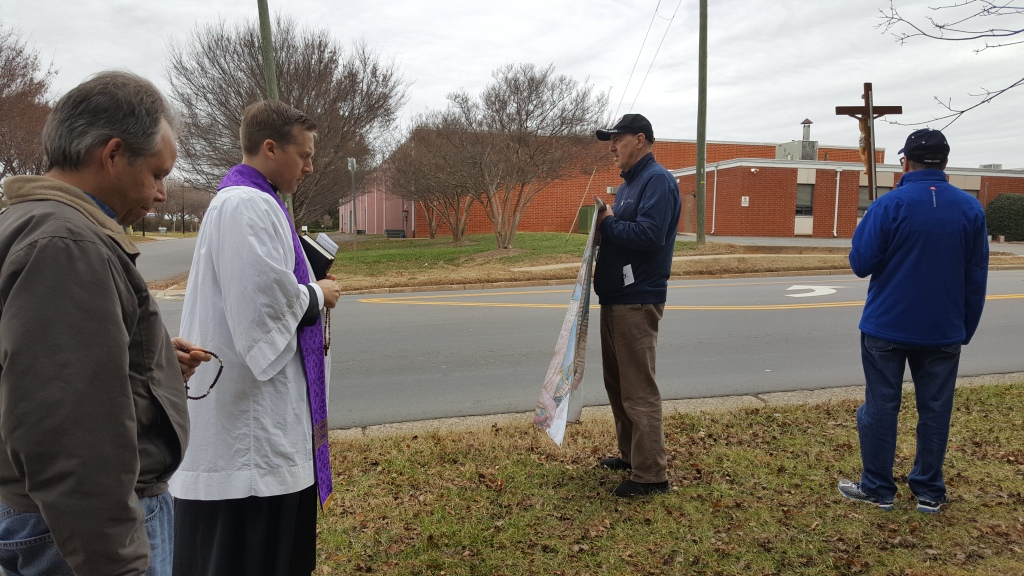 prayer at abortion clinic